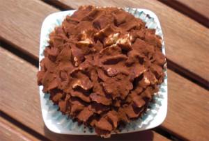 Tiramisu Cupcake von oben
