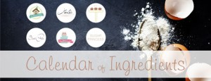 Blogevent Banner für Orangen-Joghurt Kuchen